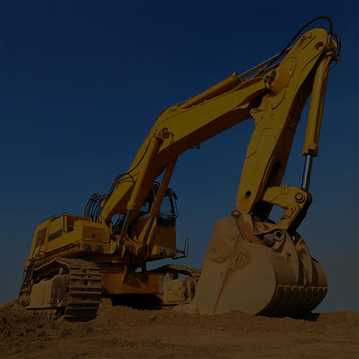 Construction and agricultural machinery, trucks